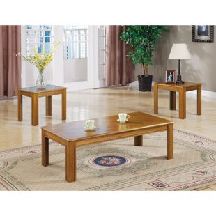Jolliff 3 Piece Coffee Table Set by Charlton Home