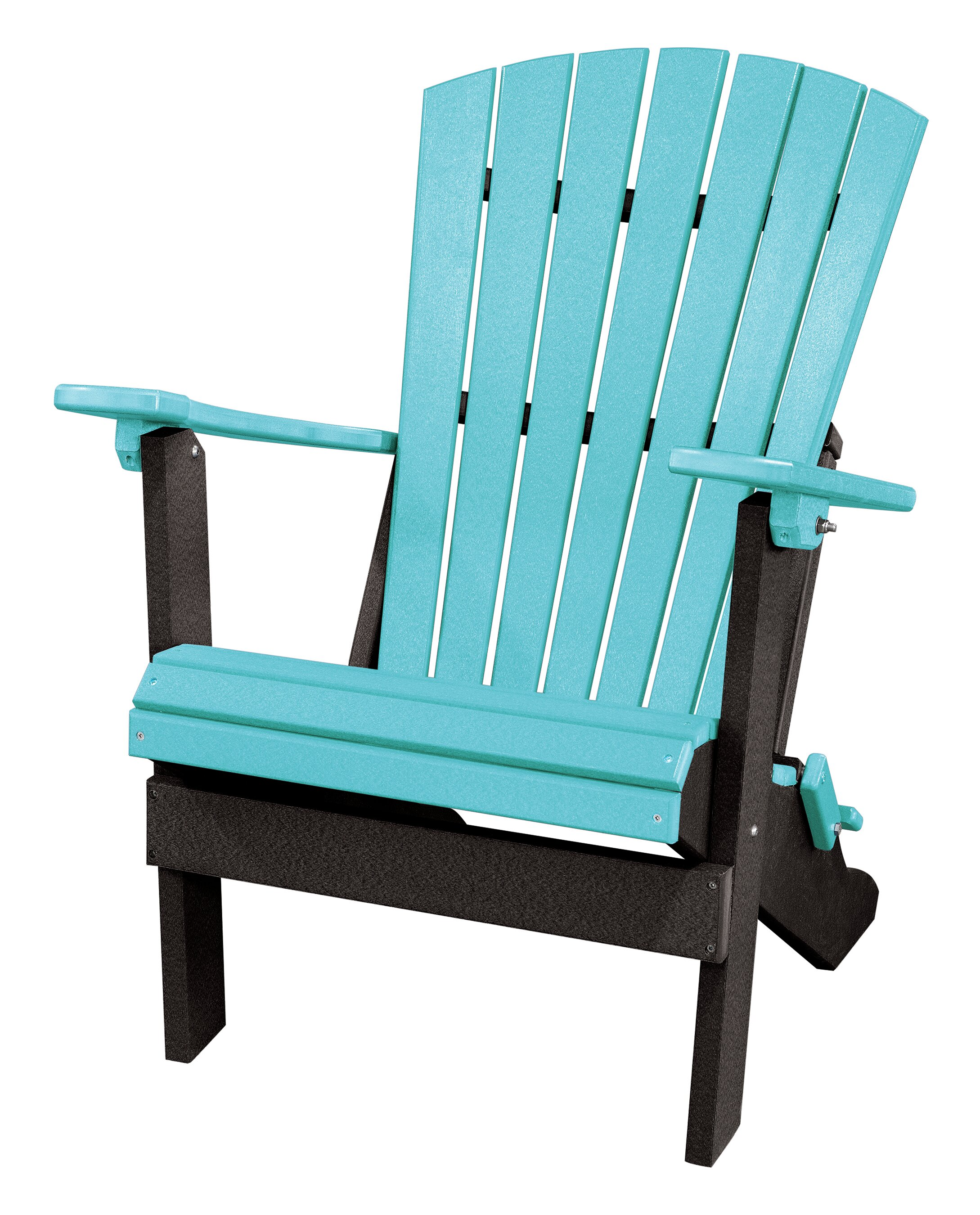Red Barrel Studio Carla Back Wood Folding Adirondack Chair | Wayfair