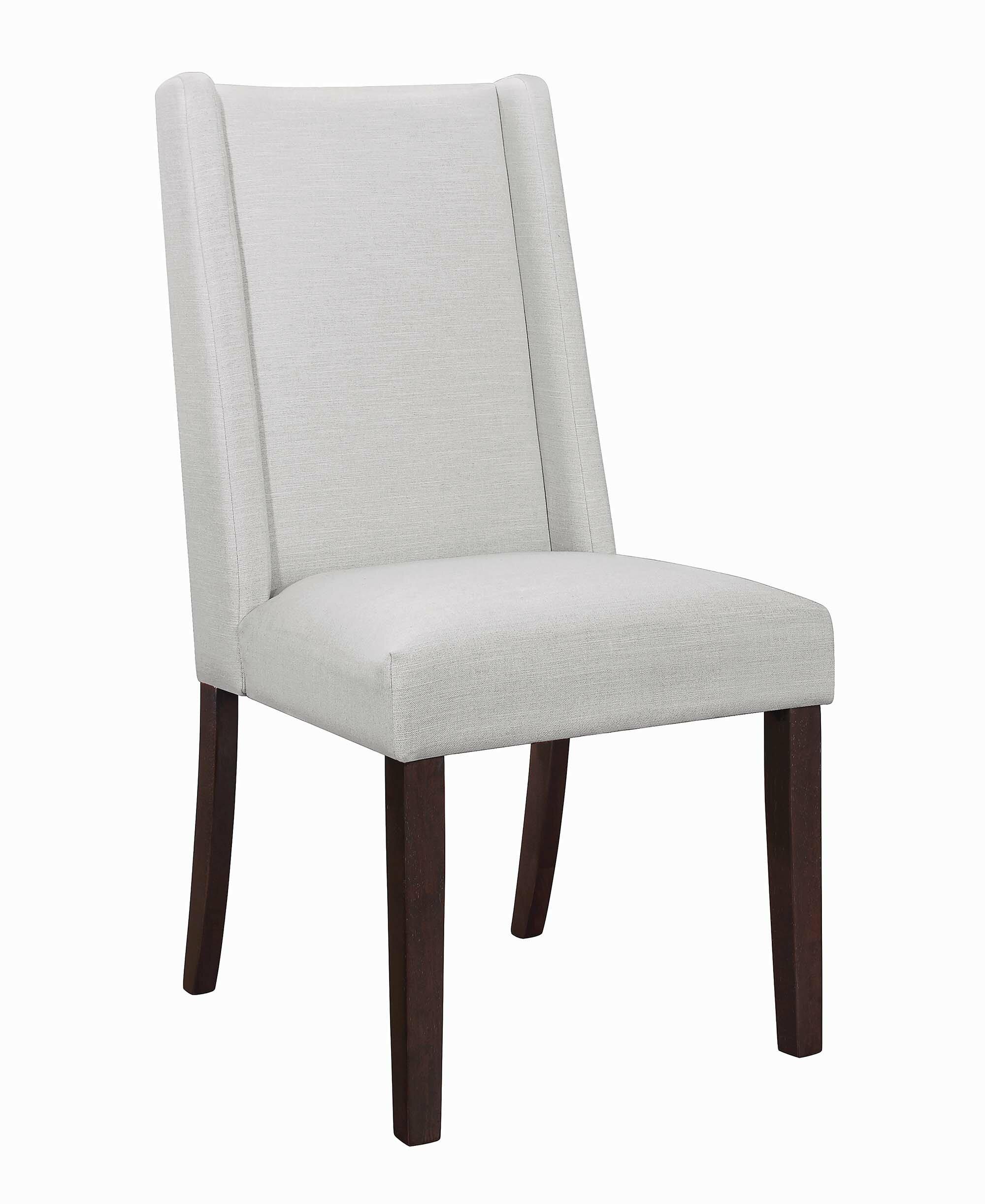 Rosdorf Park Leer Upholstered Dining Chair Wayfair
