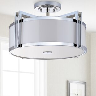 Dublin 3 Light Dia Semi Flush ..