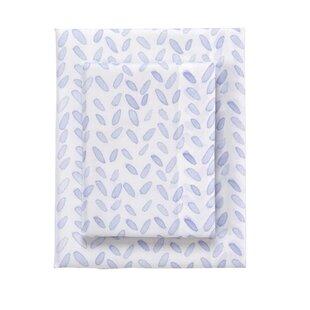 bluebellgray Ava Printed 230 Thread Count 100% Cotton Sheet Set