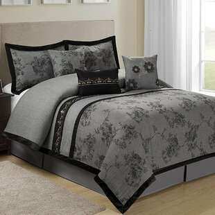 Shastai Floral 7 Piece Comforter Set by Homechoice International Group