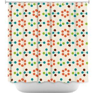 Flower Shower Curtain by DiaNoche Designs