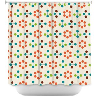 Flower Single Shower Curtain