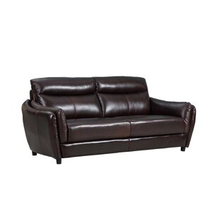 Liberty Street Top Grain Leather Sofa
