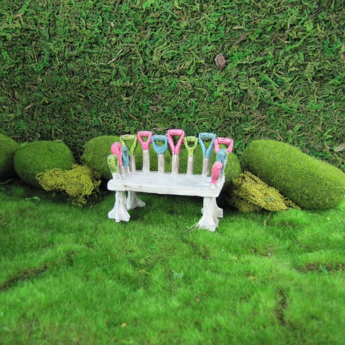 Super Treva Miniature Tool Handle Bench Fairy Garden Art Ibusinesslaw Wood Chair Design Ideas Ibusinesslaworg