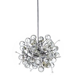 Luna 1-Light Globe Pendant by Nura Lights