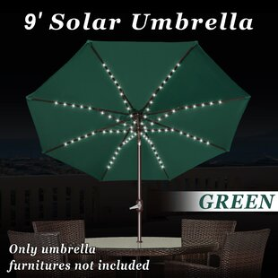 Battista 9' Market Umbrella with LED Light