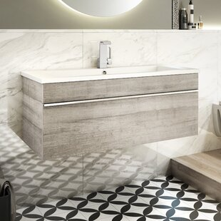 Compare Trough 42 Wall Mounted Single Bathroom Vanity Set ByCutler Kitchen & Bath