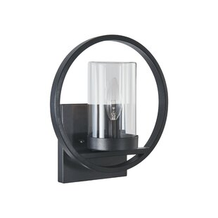 Wrought Studio Domingo Transitional Outdoor Wall Sconce