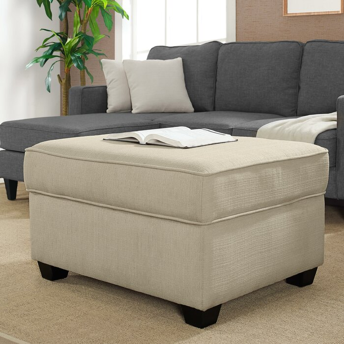 Excellent Olin Storage Ottoman Gmtry Best Dining Table And Chair Ideas Images Gmtryco