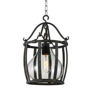 CWI Lighting Imperial 1-Light Lantern Pendant