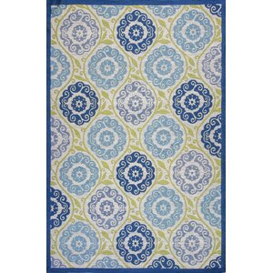 Sealy Blue/Green Outdoor Area Rug