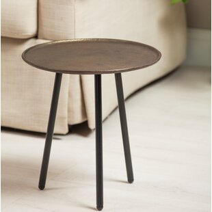 Tabor Casted Aluminum/Iron End Table