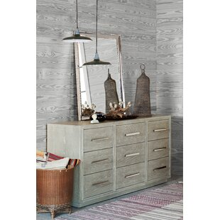 Rimini 9 Drawer Dresser by Gracie Oaks
