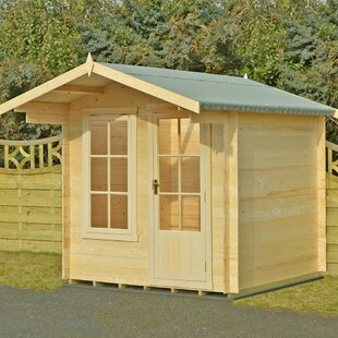 Polak 8.5 X 11 Ft. Tongue & Groove Log Cabin By Sol 72 Outdoor