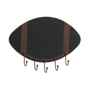 Delafield Rugby Ball Wall Mounted Coat Rack By Borough Wharf