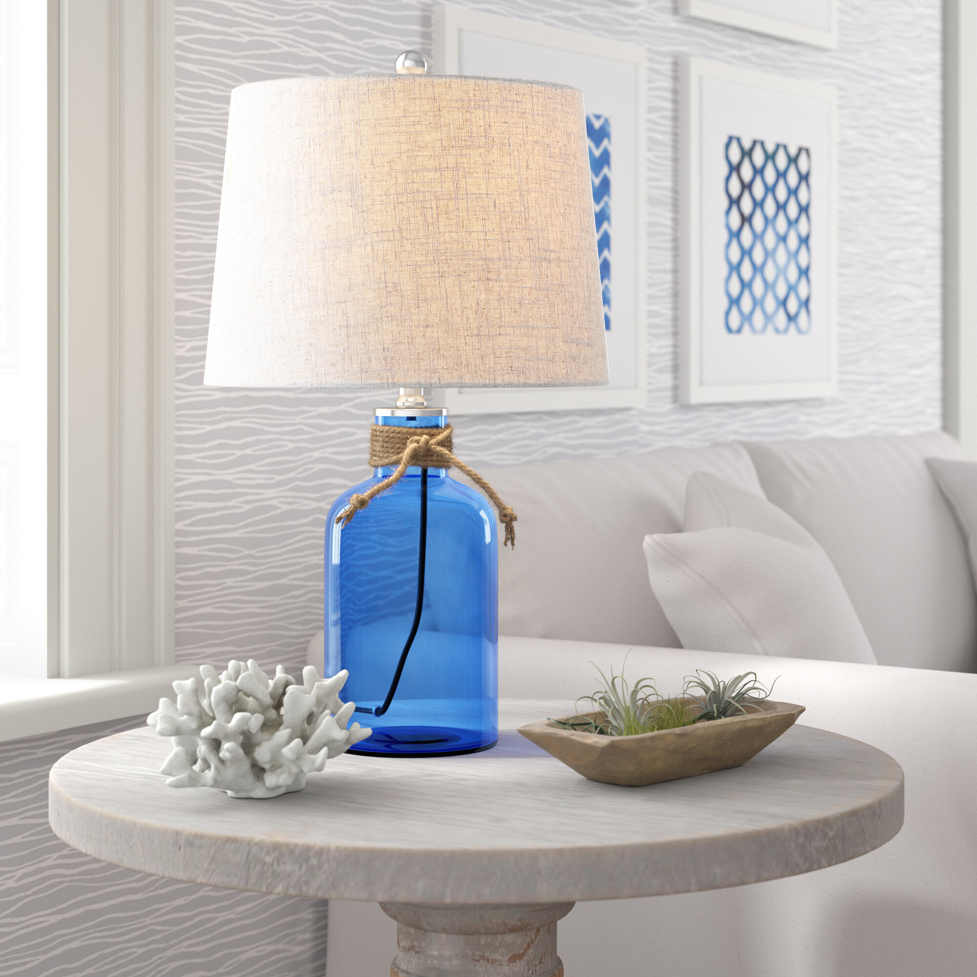 Kissner Glass Bottle 24 Table Lamp Reviews Birch Lane
