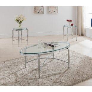 Orren Ellis Patroclus 3 Piece Coffee Table Set