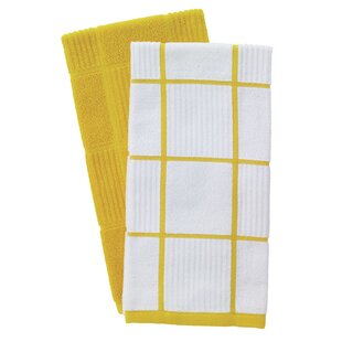 Yellow Kitchen Towels Youu0027ll Love | Wayfair