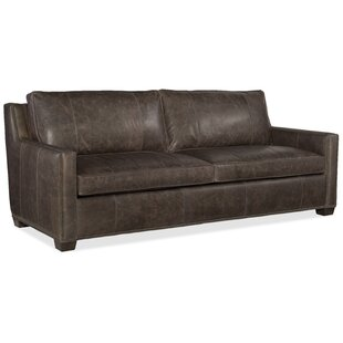 Ward Leather Sofa. By Bradington Young