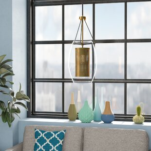 Mercury Row Depp 1-Light Cylinder Pendant