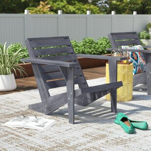 DeKalb Solid Wood Adirondack Chair by Ivy Bronx