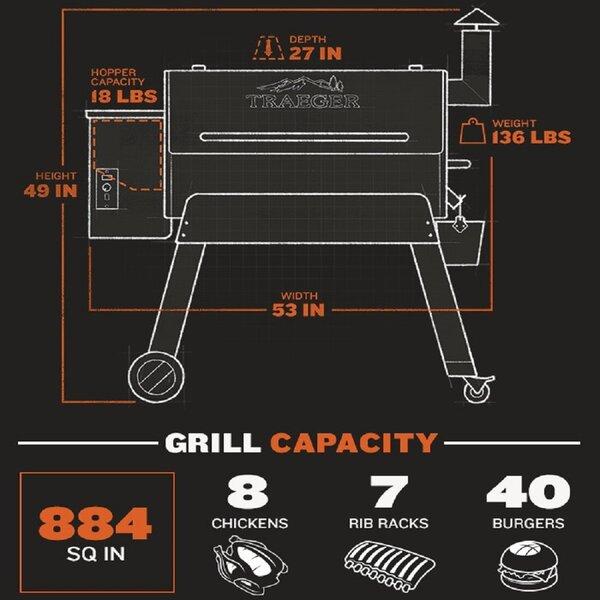 traeger pellet grills pro series 34 wood pellet grill reviews rh wayfair com traeger electrical schematic Traeger Lil' Tex Schematic