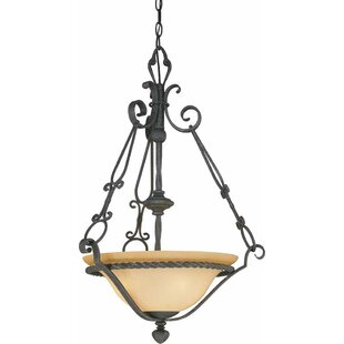 Volume Lighting Sevila 3-Light Bowl Pendant