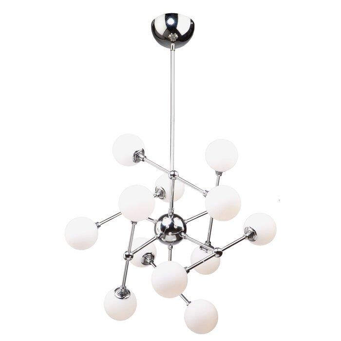 buy online 541de f055b Luna 12-Light LED Sputnik Chandelier