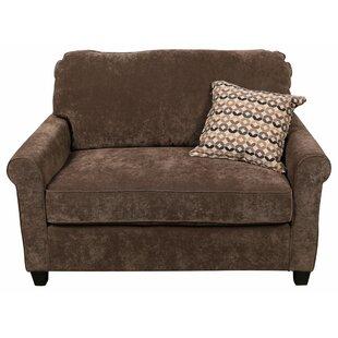 Serena Sleeper Sofa Bed Loveseat by Porter Designs