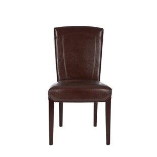 Alcott Hill Craut Bi-Cast Upholstered Dining Chair (Set of 2)