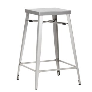 Aaron Counter 26 Bar Stool (Set of 2) Sunpan Modern