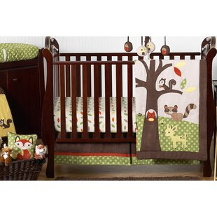 Best Reviews Forest Friends 11 Piece Crib Bedding Set By Sweet Jojo Designs
