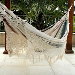 Bloomsbury Market Mccoin Joyous Earth Double Cotton Tree Hammock