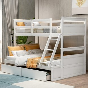 Bucklebury Twin Over Bunk Bed with Drawers by Harriet Bee