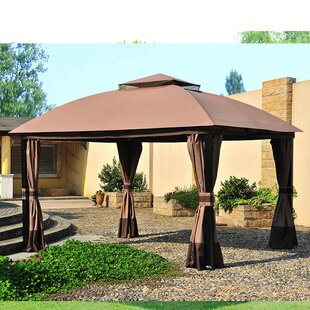 Replacement Canopy for 11' W x 13' D South Hampton Gazebo by Sunjoy