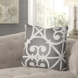 Kailee Chevron Luxury Indoor/Outdoor Lumbar Pillow