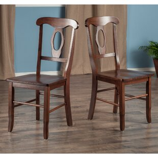 Price comparison Edge Solid Wood Dining Chair (Set of 2) by Red Barrel Studio Reviews (2019) & Buyer's Guide