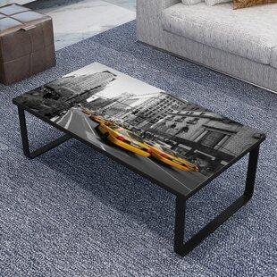 Ebern Designs Winchelsea Print Coffee Table