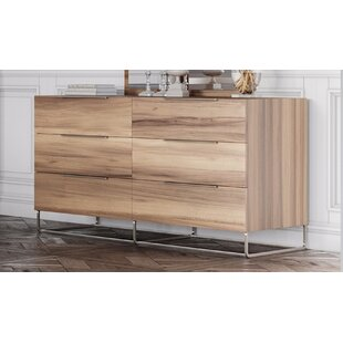 Kingon 6 Drawer Double Dresser