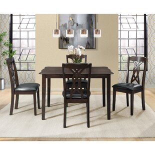 Palmetto Bluff 5 Piece Dining Set Winston Porter