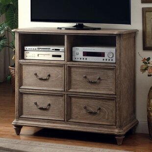 One Allium Way Simonelli Media 4 Drawer Chest