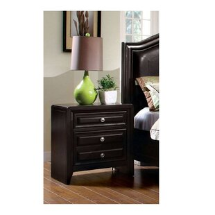 Sondra 3 Drawer Nightstand