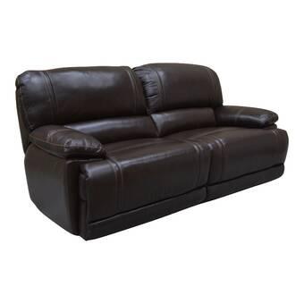 Red Barrel Studio Bima 85 Wide Pillow Top Arm Reclining Sofa Reviews Wayfair
