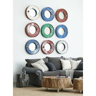 Phillips Collection Oil Drum Accent Mirror