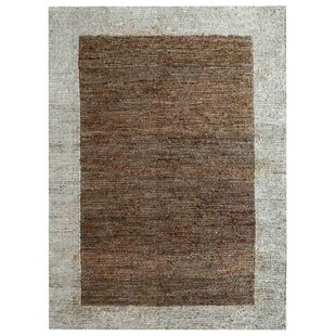 Price Check Cozette Hand-Knotted Natural Off White Area Rug By Bloomsbury Market