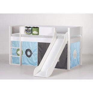 Antwan European Single Mid Sleeper Bed With Textile Set By Harriet Bee