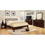 Chaparosa Queen Sleigh 4 Piece Bedroom Set by Ebern Designs