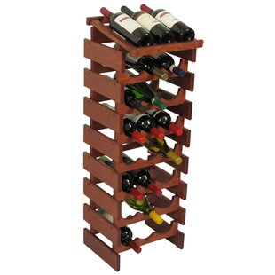 Dakota 24 Bottle Floor Wine Rack by Woode..